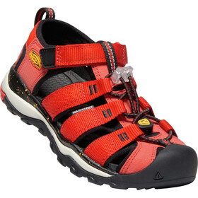 Keen Newport Neo H2 Chaussures Adolescents, fiery red/golden rod
